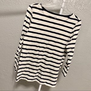 "Women's Striped ""Old Navy"" 3/4 Sleeve Top!"